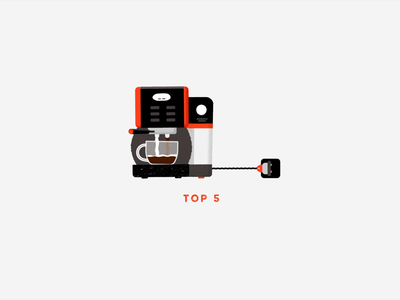Coffee Machine Animation coffee cup cup motion 2d coffee shop typeface character orange machine coffee sketch design logo vector illustration animation