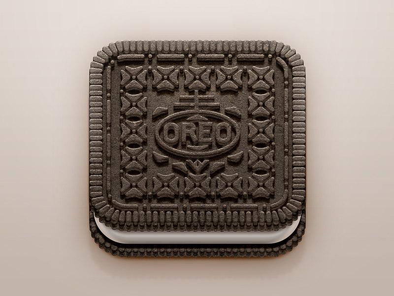 Oreo iOS Icon ios icon oreo biscuit cream food iphone ipad