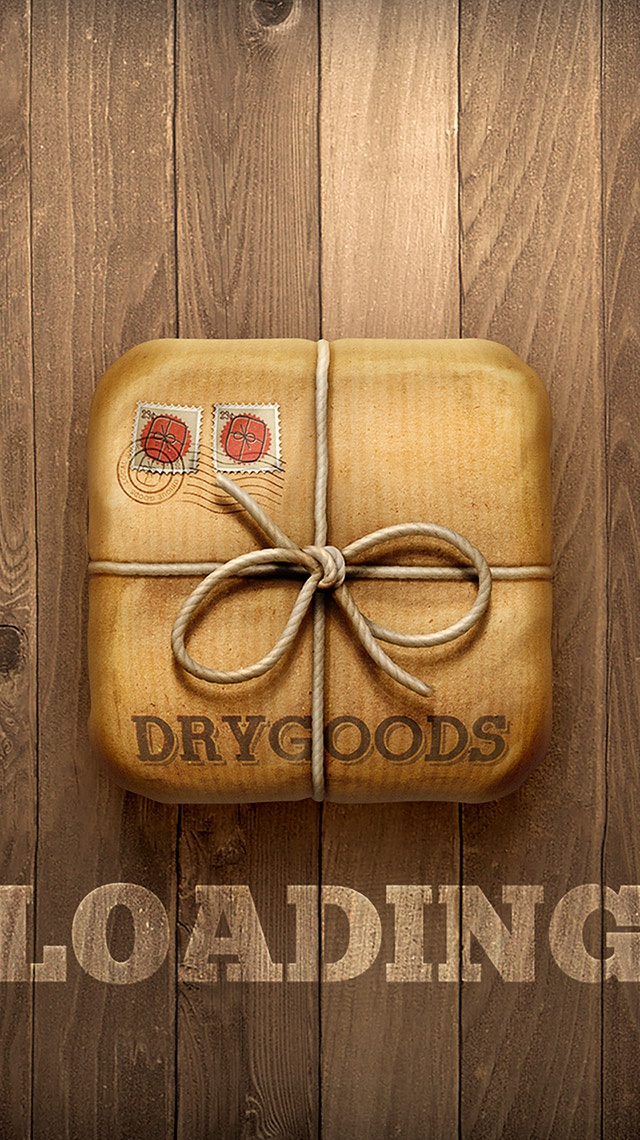 Drygoods splash screen