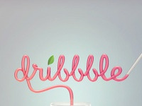 Dribbble straw hres