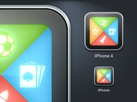 Tablet Games iPhone Icon