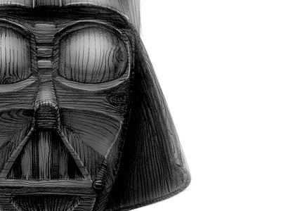 Darth Wood Vader xprocrastinationcontest dark side galaxy star wars darth vader
