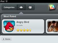 Tablet Games UI