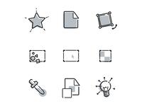 Custom Scene Icon icons branding brand product illustrator photoshop