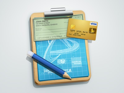 API Developers Icon api developers icon credit card visa american express check pencil blueprint gold clipboard chrome metal wood