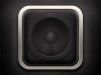 Speaker iOS Icon (II)