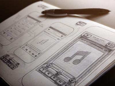 Radio App Sketch