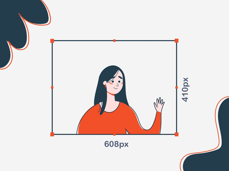 Hello Dribbbbbble logo animation ui 2d course gayane illustration illustraor 2danimation motion graphics logo mograph scale red orange gmotion gif hello design character girl