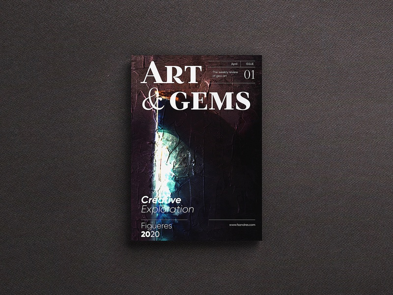Art & Gems cover book cover art book editorial layout editorial art typography design digital art vector graphic design art book cover editorial design