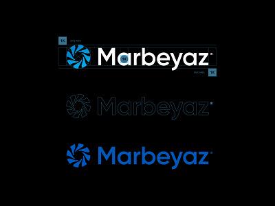 Marbeyaz® Logotype visual identity vector typography logotype icons icon logo grid golden ratio design branding agency branding brand identity brand font