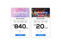 Mylocalstock pop up pricing banners website identity design identity typogaphy ui  ux pop up ui buttons webdesign branding stock