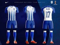 9a43c482927 Frank Sandres Pro · Honduras National Team Away Kit (Nike concept)