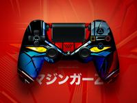PS4 Controller Mazinger Skin