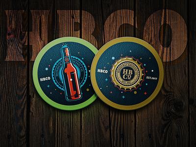 HBCo Brandmarks photoshop illustrator digital art vectors craft beer beer honduras brewing co honduras hbco