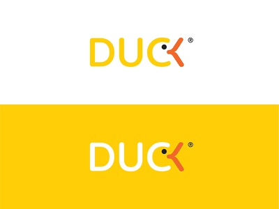 DUCK logotype toys illustration vectors mascot identity branding logotype graphic design duckling duck