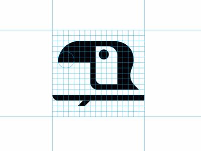 Toucan icon grid
