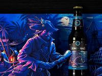 "Honduras Brewing Co. Craftbeer ""Negro Plumaje"""