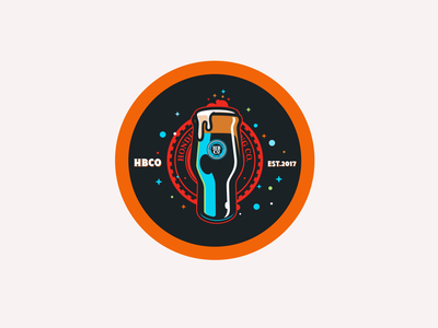 Honduras Brewing Co. brandmarks digital art illustration graphic design vectors honduras craft beer beer branding