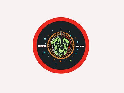 HBCo. Brandmarks digital art illustration graphic design vectors honduras craft beer beer branding