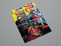 Mazinger Z Koji Kabuto print