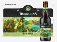 HBCo Beer label, India Virgen