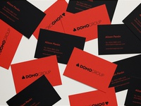 Domogroup Business Cards