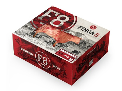 Finca 8 (Premium Meat) Concept packaging