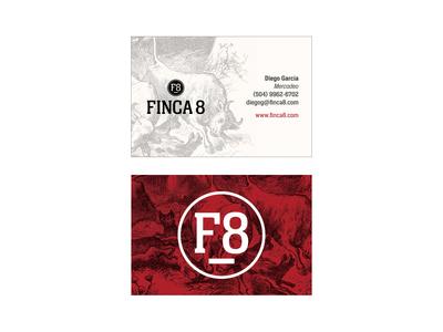 Finca 8 (Premium Meat) Concept Business Card