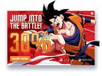 Jump Force Pop Up banner (Dragon Ball)