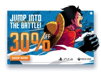 Jump Force Pop Up banner (One Piece)