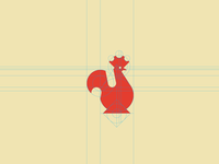 Rooster logotype