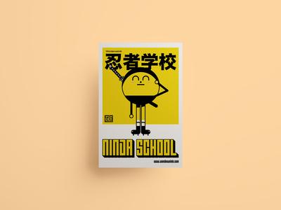 Wonderweirds 'Ninja School' Poster