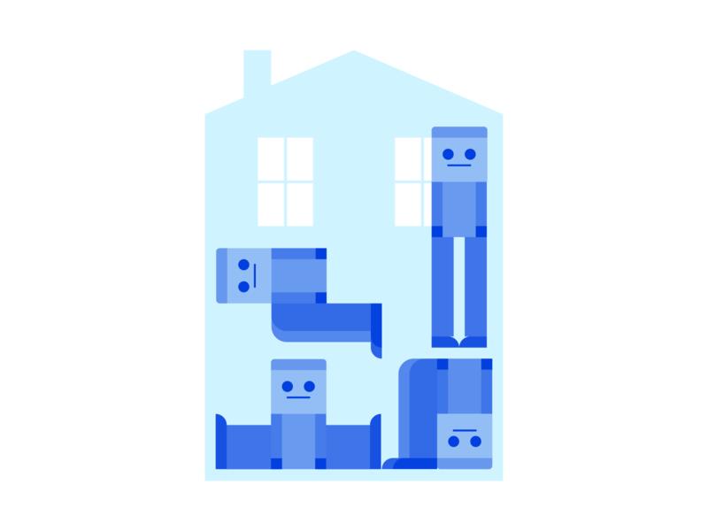 Human Tetris during lockdown covid19 tetris lockdown design illustrator vector illustration