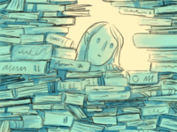 Is it time? books illustration