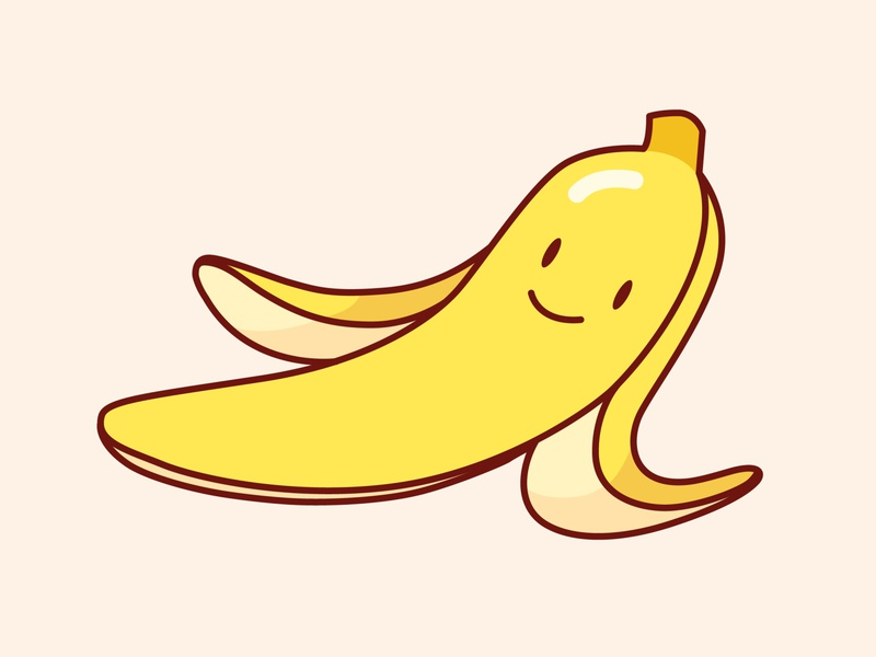 Friendly little banana banana design vector illustration
