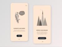 Speaking App Onboarding Screens