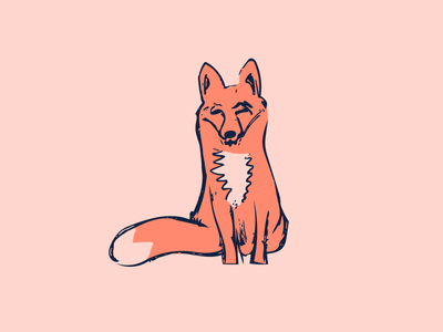 Fox Forward fox illustration sketch
