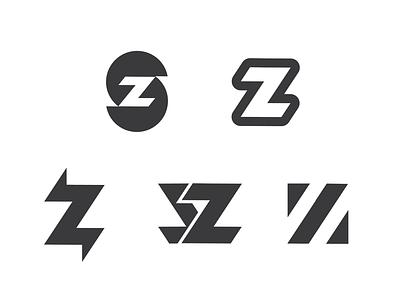 Logo Exploration blackandwhite white black illustrator z s illustration website branding logo