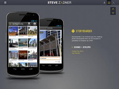 App Portfolio Concept