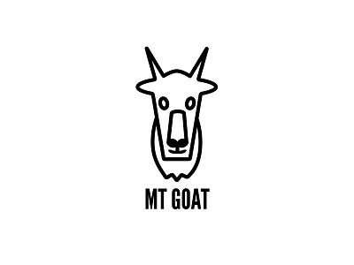 Mountain Goat animal spirit mountain goat mountain horns goat illustration