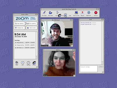 Zoom (Mac OS 9) zoom apple macos9 macinstosh uxdesign uidesign ux ui ux design ui design vintage 90s