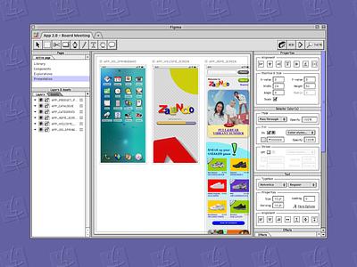 Figma (Mac OS 9) figmadesign figma apple macos9 macinstosh uxdesign uidesign ux ui ux design ui design vintage 90s