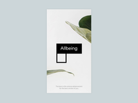 Allbeing - App Splash Screen