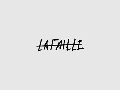 Lafaille - Logo Animation lafaille fashion branding and identity animation logo animation branding