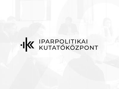Logo Design for Iparpolitikai Kutatóközpont pro bono branding logo design