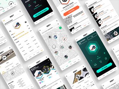 SneakerTracker UX/UI Design social app sneak peek sneakerhead sneakers sneaker ui ux design app