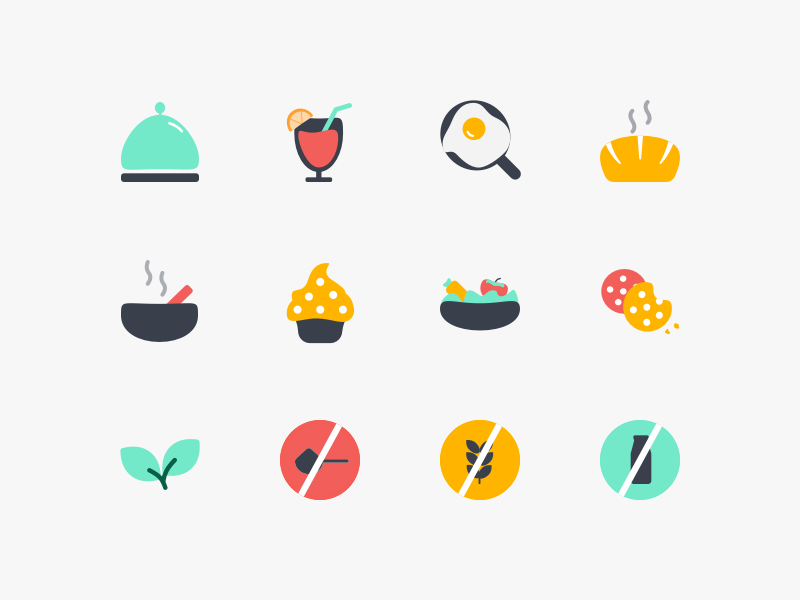 Food icons 2x