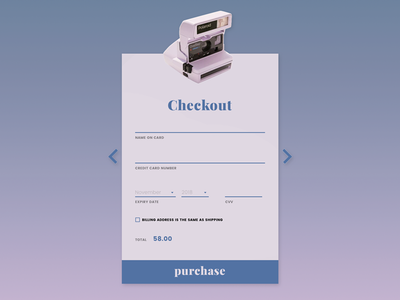 002 Daily UI — Checkout