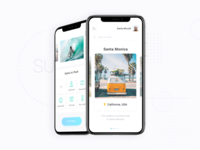Travel app (Surfing)
