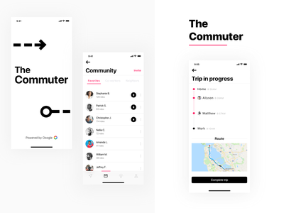 The Commuter - Part 6 commute carpool transport passenger scoop profile ride car drive driver car sharing uber